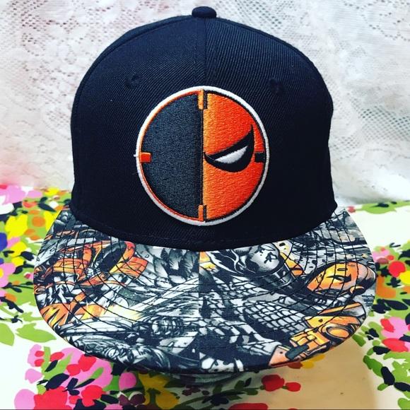 buy popular ce43d 02a7b DEATHSTROKE DC COMICS SUPER VILLAIN BASEBALL HAT. Listing Price   18.00
